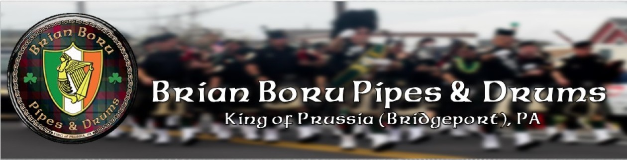 Welcome to the Brian Boru Pipes & Drums Website